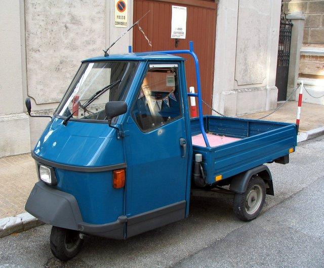 ape italian truck