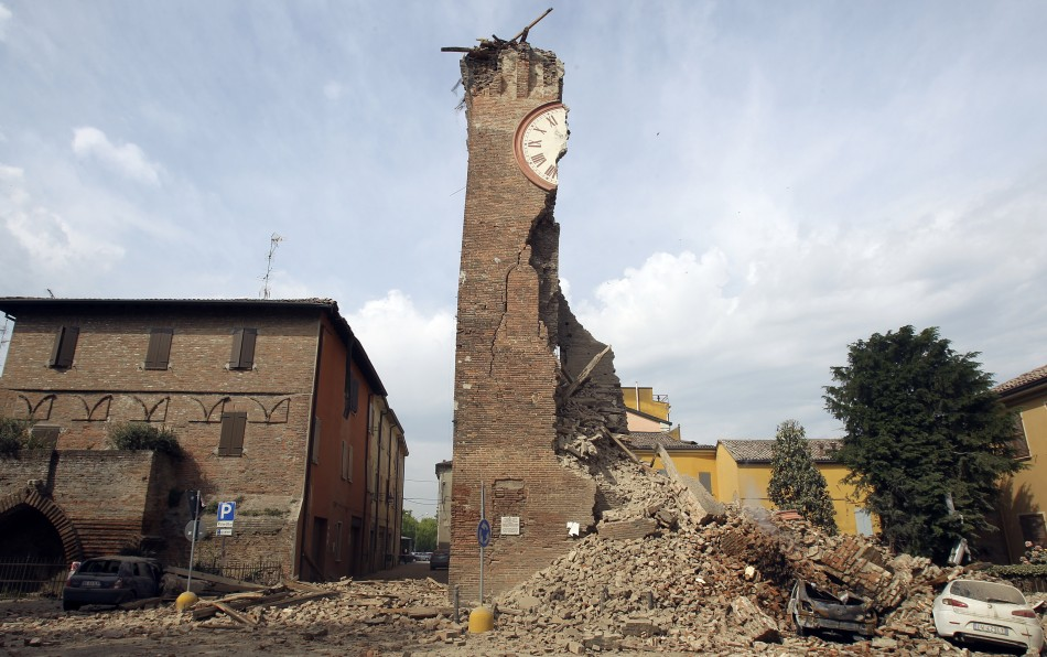 italy earthquake emilia romagna