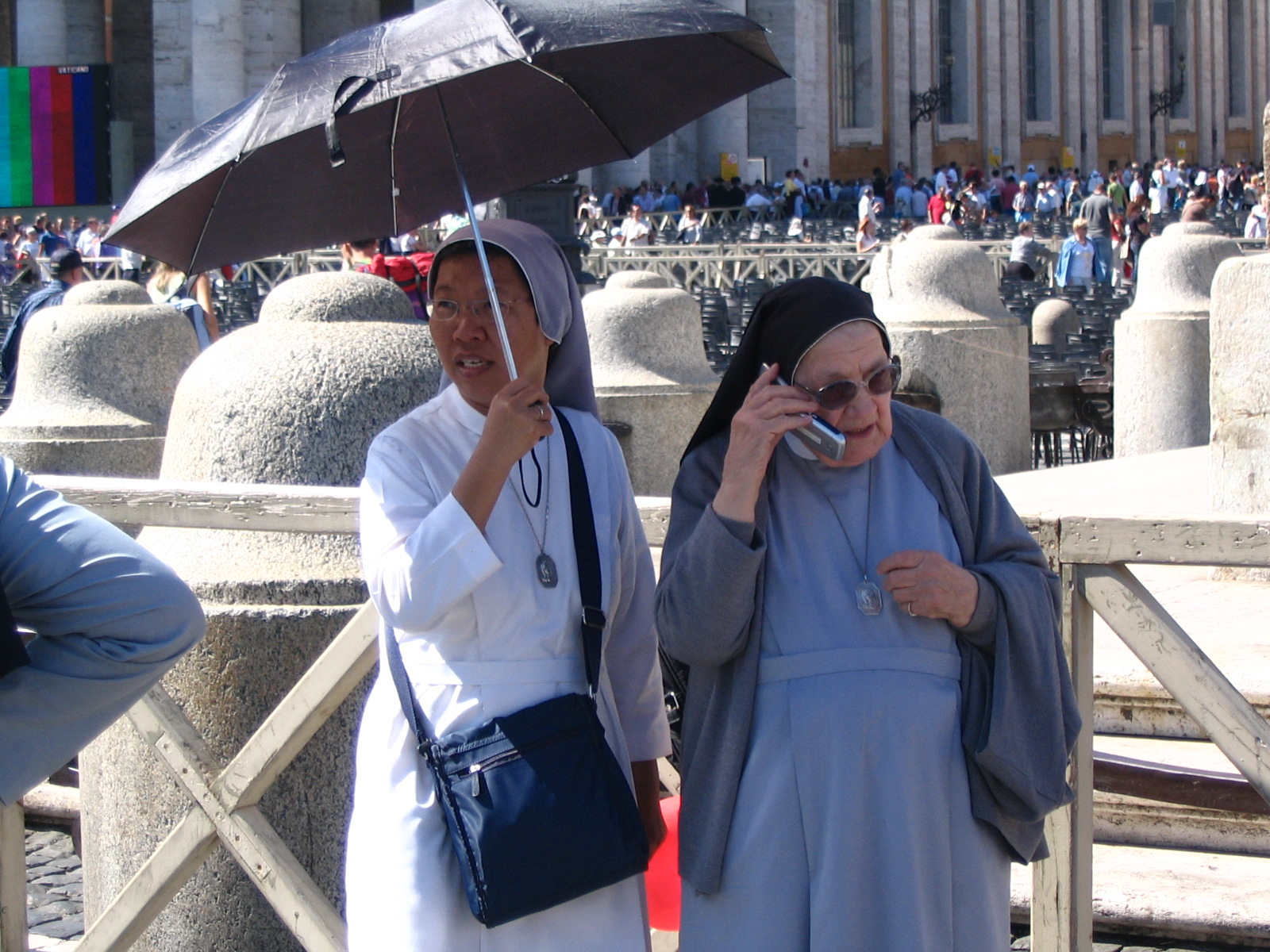 nuns at the vatican in Rome