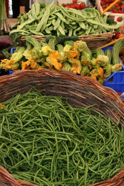italy morning market rome