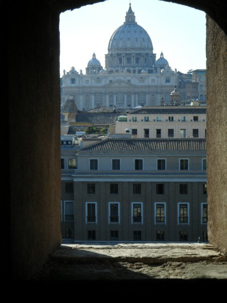rome italy vatican sunset