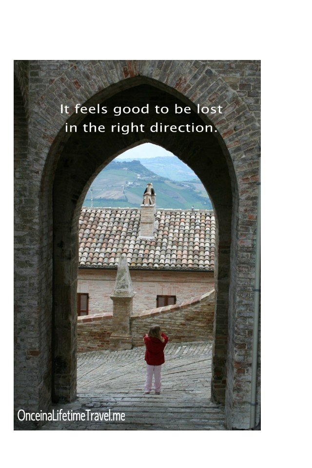 Travel Italy inspirational quotes meme