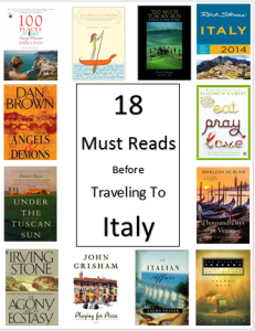 travel italy books