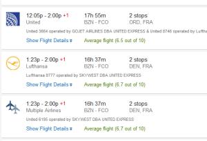 travel italy flight