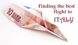 italy flight travel