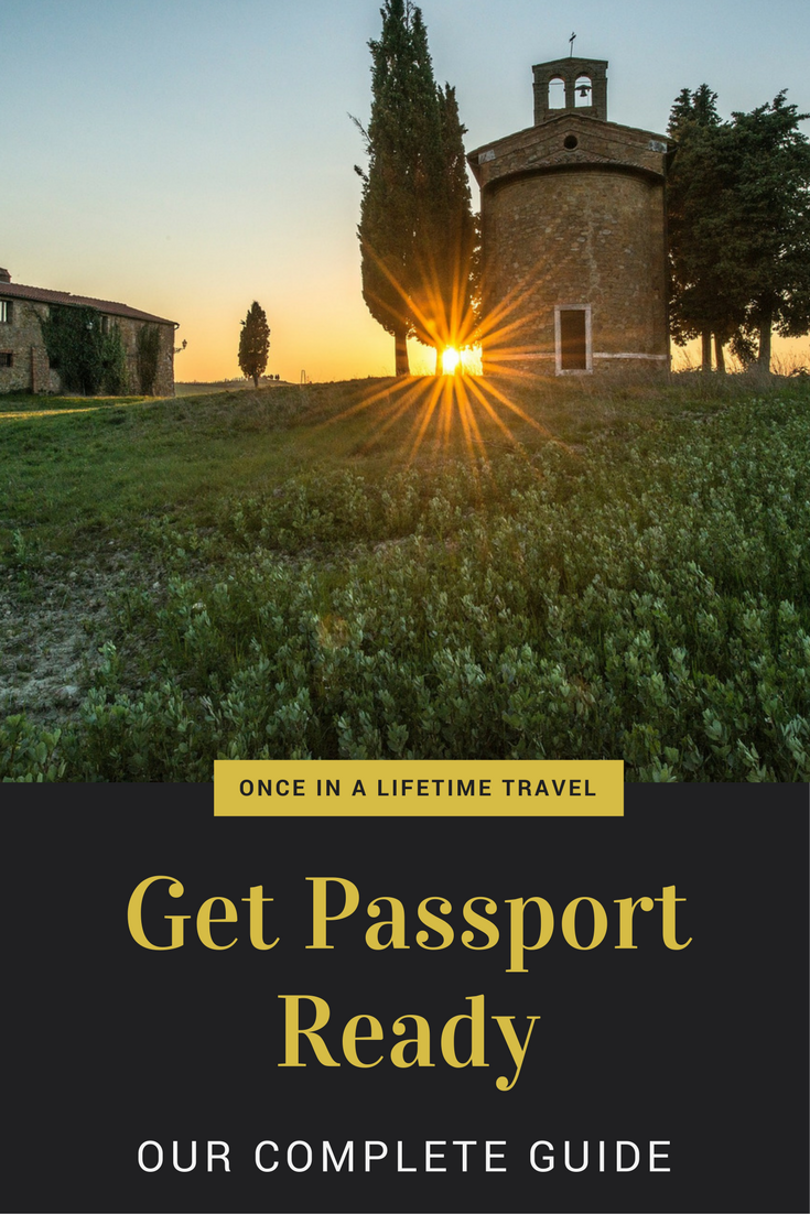 Getting Passport Ready for Italy