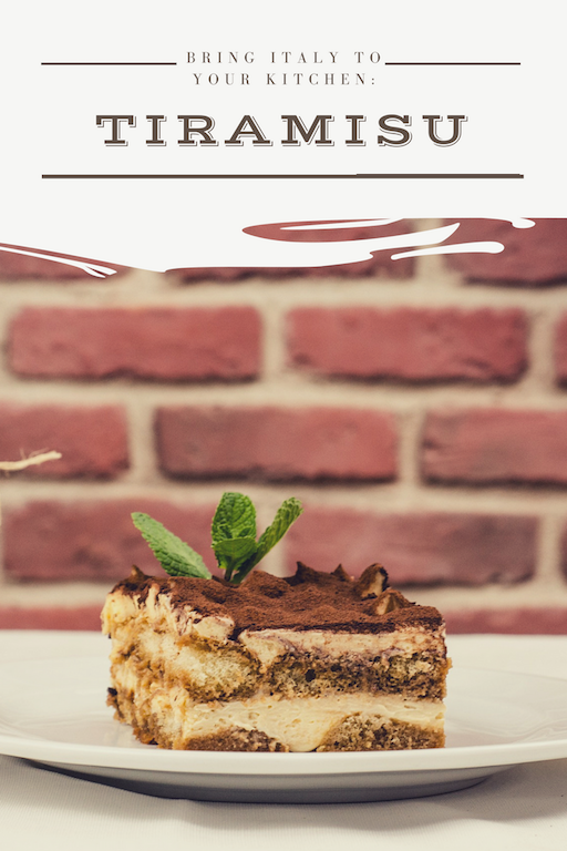 Bring Italy to Your Kitchen Tiramisu | italian travel planning planner consultant guided tours women