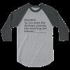 fernweh travel 3/4 length boyfriend shirt