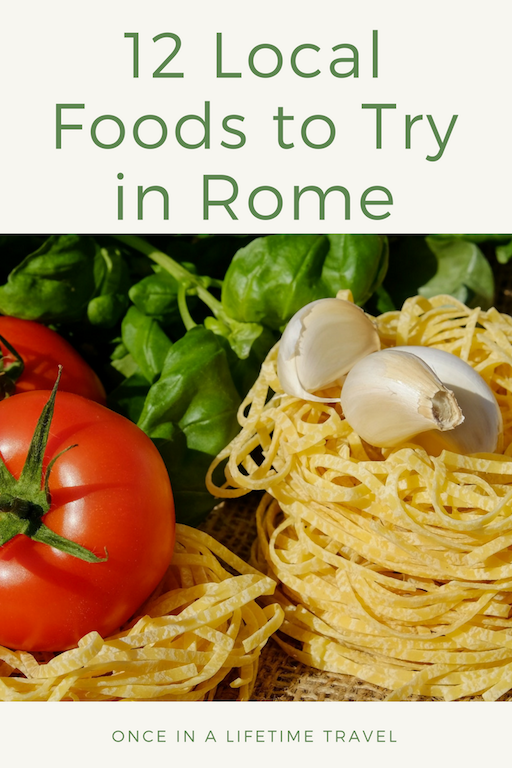 local roman dishes  italy travel planning consultant