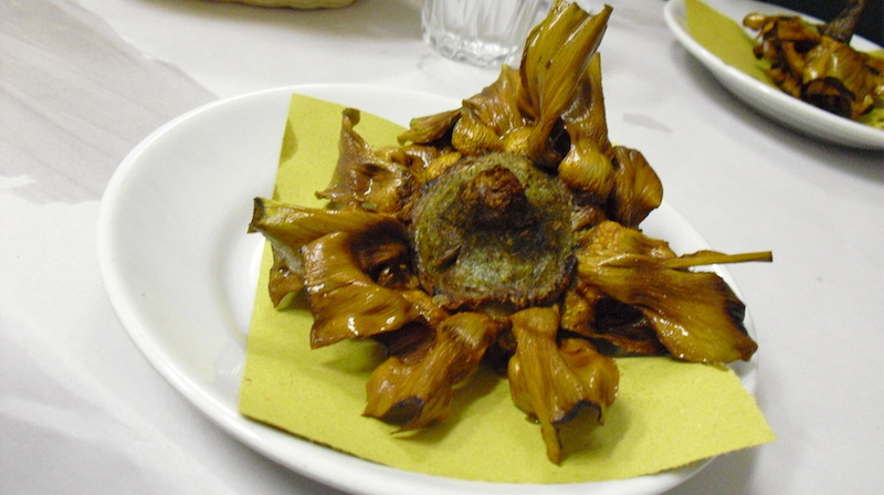ocal roman dishes carciofi alla giudia italy travel planning consultant