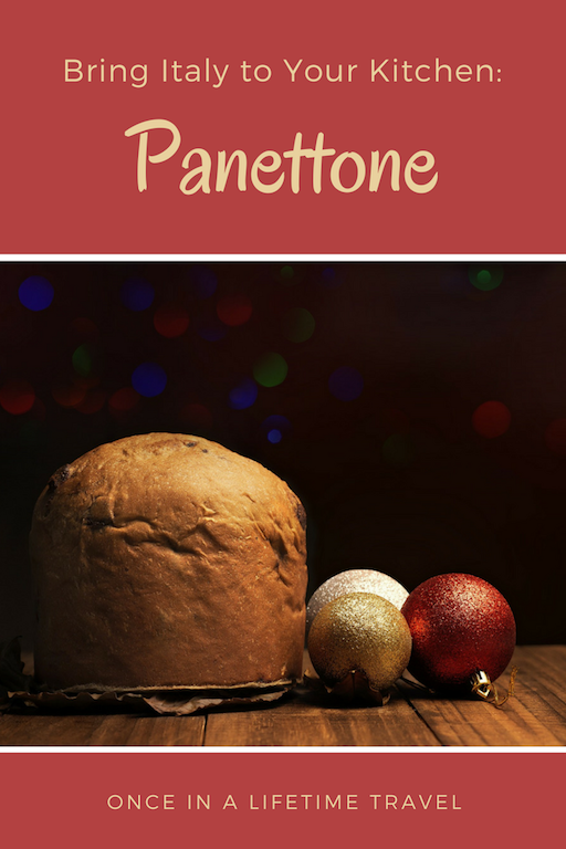 Bring Italy to Your Kitchen with Christmas Panettone